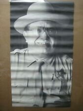 Vintage black and white Poster The Sheriff 1970's swinger Inv#G5042