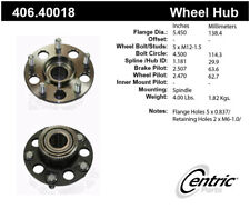 Wheel Bearing and Hub Assembly-Type R Rear Centric fits 1997 Acura Integra