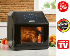 Power Air Fryer Oven Elite XL 6 QT 10 In 1 Cooking Plus BONUS 20PC Accessory Kit