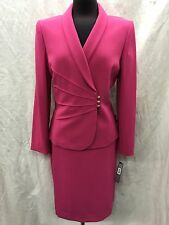 TAHARI BY ARTHUR LEVINE SKIRT SUIT/SIZE 8/RETAIL$280/LINED/NEW WITH TAG
