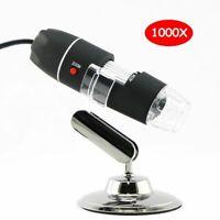 Digital Microscope USB Endoscope Camera Portable Handheld Celestron 1000X LED