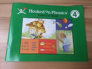 Hooked on Phonics HOP Learn to Read Green Workbook 4 Student Book Reading