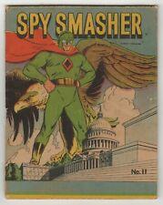 Spy Smasher (1942) #11 Fawcett Might Midget Comic Patriotic Eagle Cover VG-