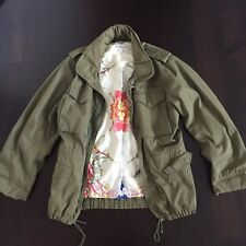 be2496677f4 Gant Rugger floral military jacket M60 Size Small Spring/Fall coat olive