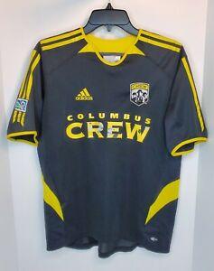 Columbus Crew MLS Soccer Youth XL 2005 Short Sleeve Jersey Black Yellow Top