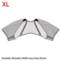 Elastic Double Shoulder Support Brace Arthritis Compression Strap Warm Pad G9Z