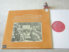 DESPREZ Missa la sol fa re mi RUHLAND CAPELLA ANTIQUA MÜNCHEN 2LP +FOC PHILIPS