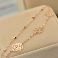 ular Charm Beach Rose Gold Ankle Bracelet Chain Foot Anklet Jewelry Supply