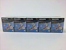 PHILIPS 75 Watt Halogen Light Bulb MR16 GU5.3 12V Spot, Narrow Flood (5 Pack)