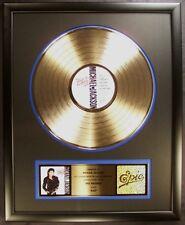 Michael Jackson Bad LP Gold RIAA Record Award Epic Records To Michael Jackson