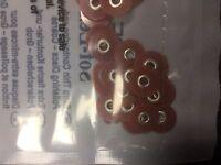 """3M Sof-Lex soflex Discs Pack of 85 Orange Series 2381C Coarse 3/8"""" 9.5 mm Dental"""