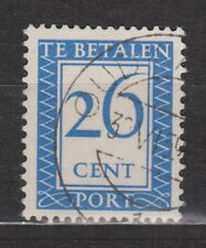 P96 Port nr 96 used gestempeld NVPH Nederland Netherlands due portzegel