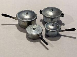 Doll's House Metal Pan Set - 4 pans