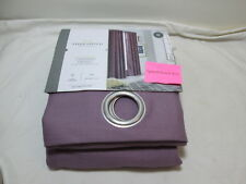 Threshold Light Filtering Grommet Curtain Panel Light Plum TEXTURED SOLID 54x84