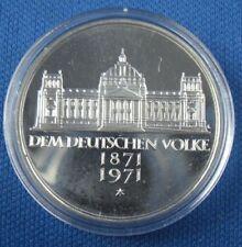 5 d-mark mark pp el neerlandeses pueblo 1971