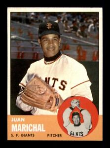 1963 Topps Set Break # 440 Juan Marichal NM *OBGcards*