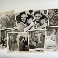 Vintage Photos Lot Of Movie Stills The Case Of Dr Laurent 1957 Jean Gabin