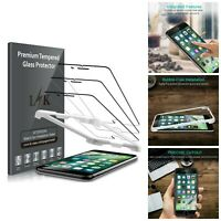 Screen Protector For iPhone 7 8 Clear Tempered Glass Scratch Resistant Pack Of 3
