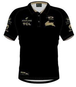 South Sydney Rabbitohs 2021 Players Polo Shirt Sizes Small - 5XL NRL Classic