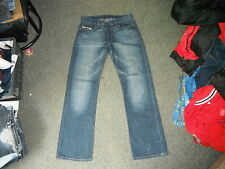 "Diesel Rabox Jeans Waist 31"" Leg 32"" Faded Dark Blue Ladies Jeans"