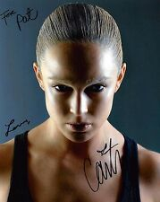Caity Lotz signed 8x10 photo / autograph inscribed to Pat