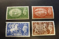 GB  1951  KGVI  Festival High Values  2/6 - £1      Mint