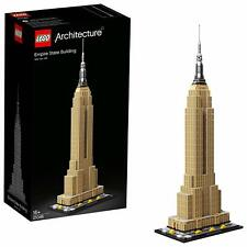 21046 LEGO Architecture USA American Empire State Building Model Kit New & Boxed