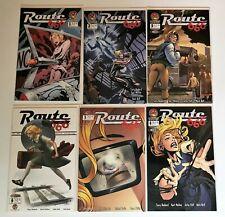 Route 666 #1-6 2002 Crossgen Comics Lot of 6 Issues Horror Supernatural Sci-Fi