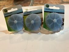 Charles Viancin Silicone Snowflake  Wine or whatever Bottle Stopper set of 3