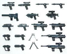 Little Arms - 17 Blaster Pistolen Gewehr Waffen für LEGO® Star Wars™ Figuren
