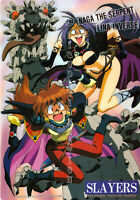 OOP HTF 1995 SLAYERS THE MOTION PICTURE ECCHI ANIME MANGA PENCIL BOARD SHITAJIKI