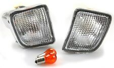 98-00 Toyota Tacoma 4WD Clear Bumper Signal Lights 99 Pair