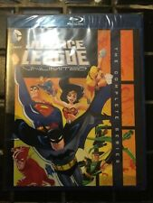 Justice League Unlimited: The Complete Series (Blu-ray, 3-Disc Set) New Sealed