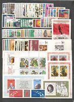 DDR   1977 postfrisch  komplett  mit allen Einzelmarken
