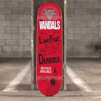 THE VANDALS SKATEBOARD DECK SIGNED SIGNIERT Punk Rock Vans DC Tony Hawk Jackass