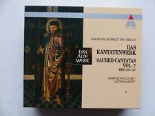 BOX CD  BACH Das Kantatenwerk HARNONCOURT LEONHARDT Vol 7 TELDEC