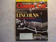 Classic Car 2007 October Lincolns Chrysler Imperial Cadillac de Ville Rambler