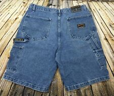 Vintage Nautica Mens Marine Denim Co. Shorts Sz 38 (36 x 11) Medium Blue Wash