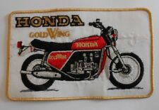 original  1970`s-80`s  large 8 1/2 x 5 inches  Honda gold wing  patch
