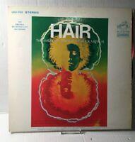 1968 HAIR THE AMERICAN TRIBAL LOVE ROCK MUSICAL Vinyl LP Vintage Record Album