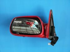 NEW GENUINE TOYOTA COROLLA AE90 AE92 EE90 EE92 LH RED COLOR Power Folding Mirror