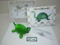 NIB Simon Design Green Crystal Dinosaur Paperweight/Decoration SDDINO Lot#400