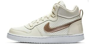 NIKE COURT BOROUGH MID Fitness Shoe Trainer Over the Ankle Sneaker 845107 £90