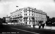 "Photo 1930s Hastings, UK ""Queen's Hotel"""