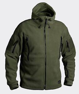 Helikon Tex Military Tactical PATRIOT Heavy Fleece Double Jacket - Olive Green