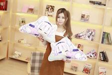 2018 Kobayashi-san Chi no Maid Dragon Kanna Loli Pillow Plush Doll Toy Two-sided