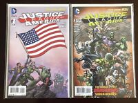 Justice League of America New 52, Issues 1-14, Geoff Johns Finich