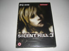 SILENT HILL 3 III Pc DVD Rom Survival Horror  NEW & SEALED - FAST POST
