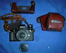 NIKON F3 Camera WITH 35 MM LENS + Soft case