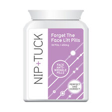 NIP & TUCK FORGET THE FACELIFT PILLS FACE ANTI WRINKLE PILLS SMOOTH RADIANT SKIN
